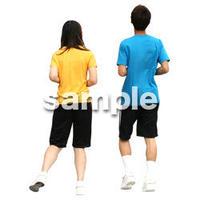 人物切抜き素材 夏服・フィットネス編 J_351