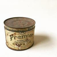 "U.S.A. Vintage ""PREMIER"" Coffee Tincan (1lb)"