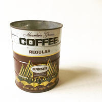 "U.S.A. Vintage ""ALPHA BETA"" Coffee Tincan (2lbs)"