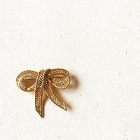 U.S.A. Vintage Ribbon Brooch