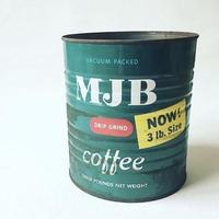 A. Vintage ''MJB'' Coffee Tincan(3lbs)