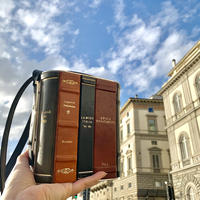 【両面】Finta Libreria Clutch Bag
