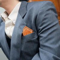【靴ベラタイプ】Pocket Leather chief Holder