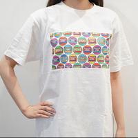 カセットロゴB(ホワイト) ザ・カセットテープ・ミュージックTシャツ