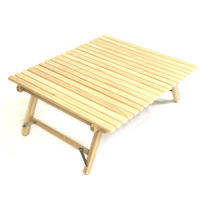Compact Roll Top Low Table L