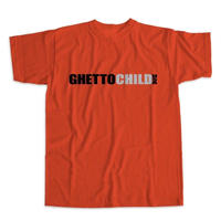GHETTOCHILD  CLASSIC USA TEE-RED