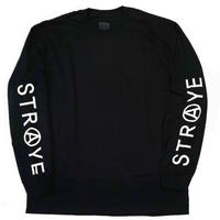 STRAYE TRAP L/S TEE   BLACK