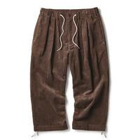 INTERBREED CORDUROY COMFY PANTS-BROWN