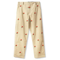 BUTTER GOODS  ROSE CORDUROY PANTS   OFF-WHITE