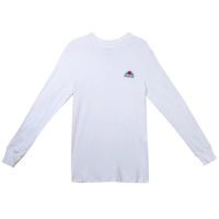 DEATHWISH THERMAL L/S TEE-WHITE