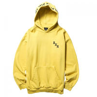 BORN X RAISED BXR TONAL HOODY  M,YELLOW