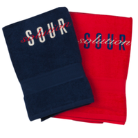 SOUR SOLUTION    BEACH TOWEL