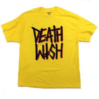 DEATHWISH DEATH STACK TEE  YELLOW