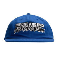 FUCKING AWESOME ONE&ONLY HAT BLUE