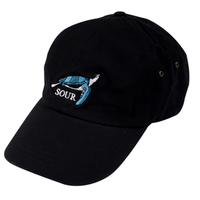 SOUR SOLUTION   TURTLE DAD CAP  BLACK