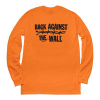 COMMON DUST BACK AGAINST THE WALL L/S TEE  ORENGE