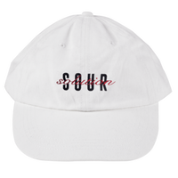 SOUR SOLUTION BBQ DAD CAP-WHITE