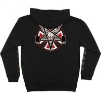 INDEPENDENT X THRASHER PENTAGRAM CROSS PULLOVER HOODIE