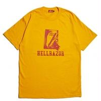 HELLRAZOR WAITING FOR CALL TEE GOLD
