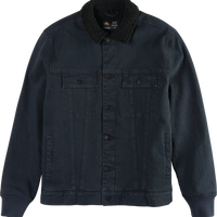 EMERICA HERES JOHNNY JACKET    BLACK INDIGO