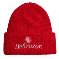 HELLRAZOR TRADEMARKLOGO WATCHCAP-RED