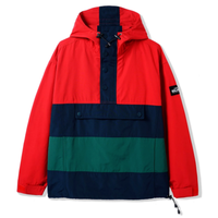 BUTTER GOODS SANTOSUOSSO JACKET-RED/NAVY/FOREST
