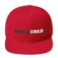 GHETTOCHILD CLASSIC USA SNAPBACK-RED