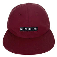 NUMBERS EDITION MITERED BOX NYLON 6-PANEL HAT-PORT