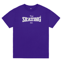 CLASSIC GRIP KEEP SKATING KIDS TEE-PURPLE