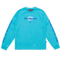 WASTED PARIS UNDERWORLD L/S TEE ASID BLUE
