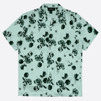 WASTED PARIS ALLOVER SHIRT-MINT CHARMING