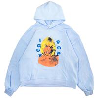 MGCT IGGY POP HOODIE-P,BLUE
