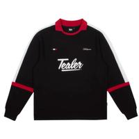 TEALER SOCCER L/S TEE-BLACK