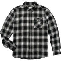 EMERICA DRIFT FLANNEL-BLACK