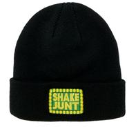 SHAKE JUNT CUFF BEANIE BOX LOGO-BLACK