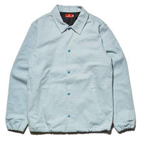 HELLRAZOR  DENIM COACH JACKET-LIGHT BLUE