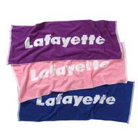 LAFAYETTE LOGO JACQUARD TOWEL-3色
