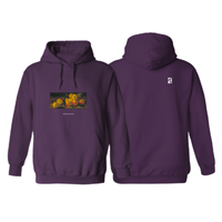 POETIC COLLECTIVE STILL LIFE HOODIE-PURPLE