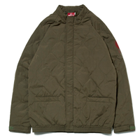 HELLRAZOR WAVE QUILTED JACKET-ARMY GREEN