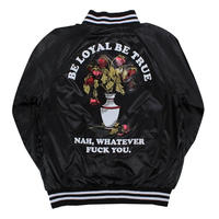 FLYING COFFIN BE LOYAL JACKET   BLACK