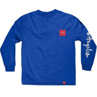 CHOCOLATE LOS ANGELES C.T.W. L/S TEE R,BLUE
