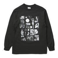 BOYS OF SUMMER WEIRDO DAVE L/S TEE-BLACK
