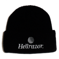 HELLRAZOR TRADEMARK LOGO WATCH CAP BLACK