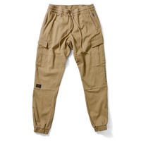 LAFAYETTE COTTON TACTICAL JOGGER PANTS BEIGE