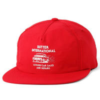BUTTER GOODS M3 5PANEL SNAPBACK RED