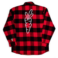 CARROTS SIGNATURE LUMBERJACK FLANNEL  RED