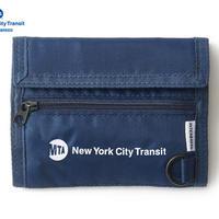 MTA X INTERBREED MTA NYLON WALLET NAVY