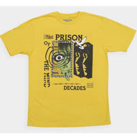 THE DECADES PRISON TEE  YELLOW