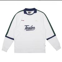 TEALER SOCCER L/S TEE-WHITE