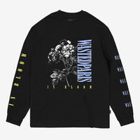 WASTED PARIS IN BLOOM L/S TEE-BLACK